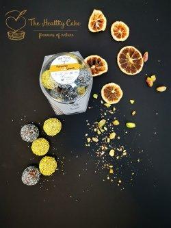 Pistachio and Lemon Truffles image