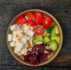 Quick Mediterranean Bowl image