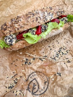 Salmon Sandwich image