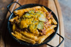 Loaded fries with pulled pork image