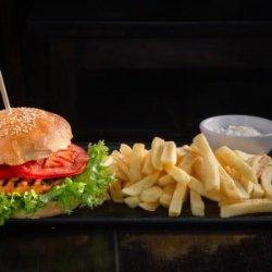 Hamburger pui light grecesc