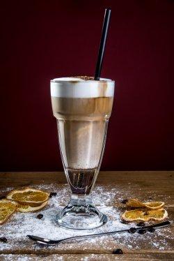 Latte machiato + sirop image