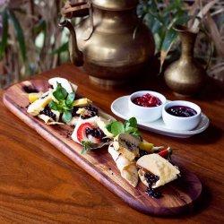 Terină de foie gras cu fructe și dulceață image