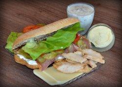Sandwich Chicken swing  image