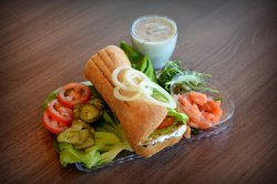 Sandwich Somon