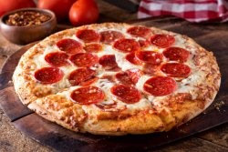 Pizza Salame image