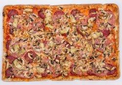 Pizza Quattro Staggione 60/40 cm (FAMILY SIZE)