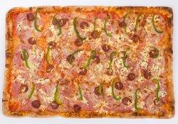 Pizza Tărănească 60/40 cm (FAMILY SIZE)