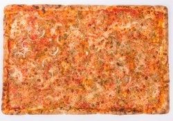 Pizza Tonno e cipolla 60/40cm (FAMILY SIZE)