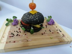 Black Burger image