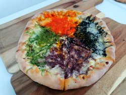 Pizza Quattro Formaggi Chef Style image