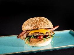 Chicken Cheeseburger image