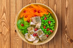 Quick Carrots & Peas