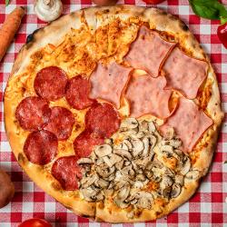 09. Pizza Quattro Stagioni mică
