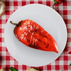7. Salată de ardei copți