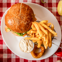 02. Meniu hamburger simplu