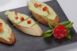 Bruschette guacamole image
