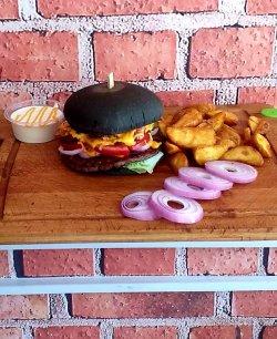 Burger Black Pearl