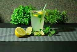 Limonada cu menta si miere 500 ml