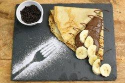 Clătite cu ciocolată și banane 30% reducere