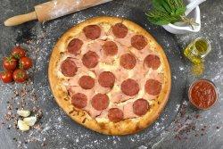 Pizza Prosciutto Salami mare image