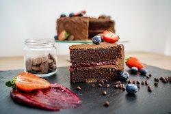 Choco & Fruits Cake