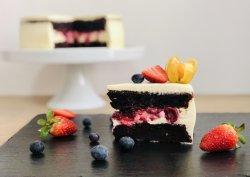 Cream cheese & Fruits image