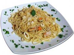 Spaghete cu fructe de mare image