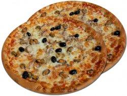 Pizza 1+1 Frutti di Mare 32 cm image