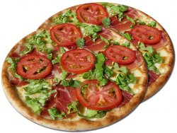 Pizza 1+1 Primavera 32 cm image