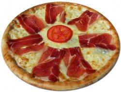 Pizza Prosciutto Crudo e Gorgonzola 32 cm