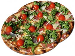 Pizza 1+1 Prosciutto crudo e rucola 32 cm