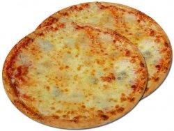 Pizza 1+1 Quattro formaggi 32 cm image