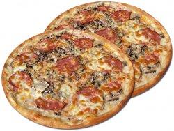 Pizza 1+1 Quattro stagioni 32 cm image