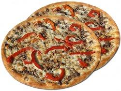 Pizza 1+1 Vegetariană 32 cm