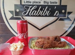 Habibi`s Box + Coca Cola
