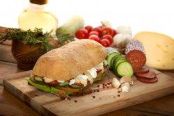 Chorizzo Sandwich image