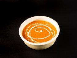 Supă cremă de roșii cu mozzarella image