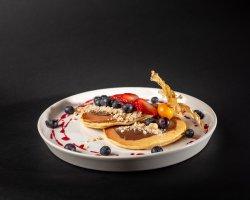 Nutella pancakes image
