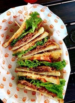 Sandwich BLT  image
