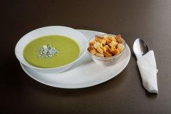 Supa crema broccoli cu roquefort image