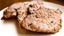 Muschiuleț de porc la grătar image