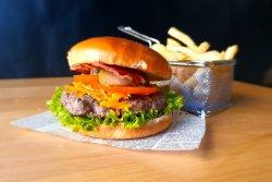 Cheddar & Bacon Burger image