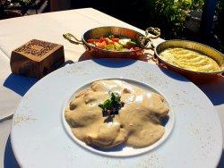 Piept de pui cu sos de brânză Gorgonzola image