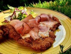 Șnițel din carne de vită în stil Milanez image