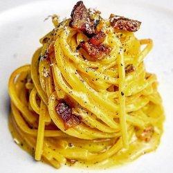 Spaghetti cu sos Carbonara image