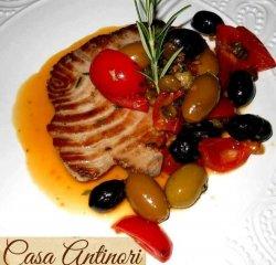 File de ton roșu în stil Sicilian image
