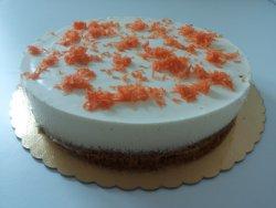 tort cu morcovi, nuci și cremă de iaurt 12 felii, , 1,9 kg