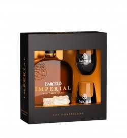 BARCELO IMPERIAL + 2 pahare 70 CL 38%