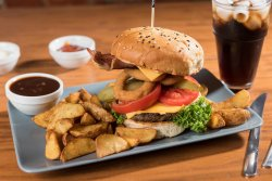 Burger Black Angus image